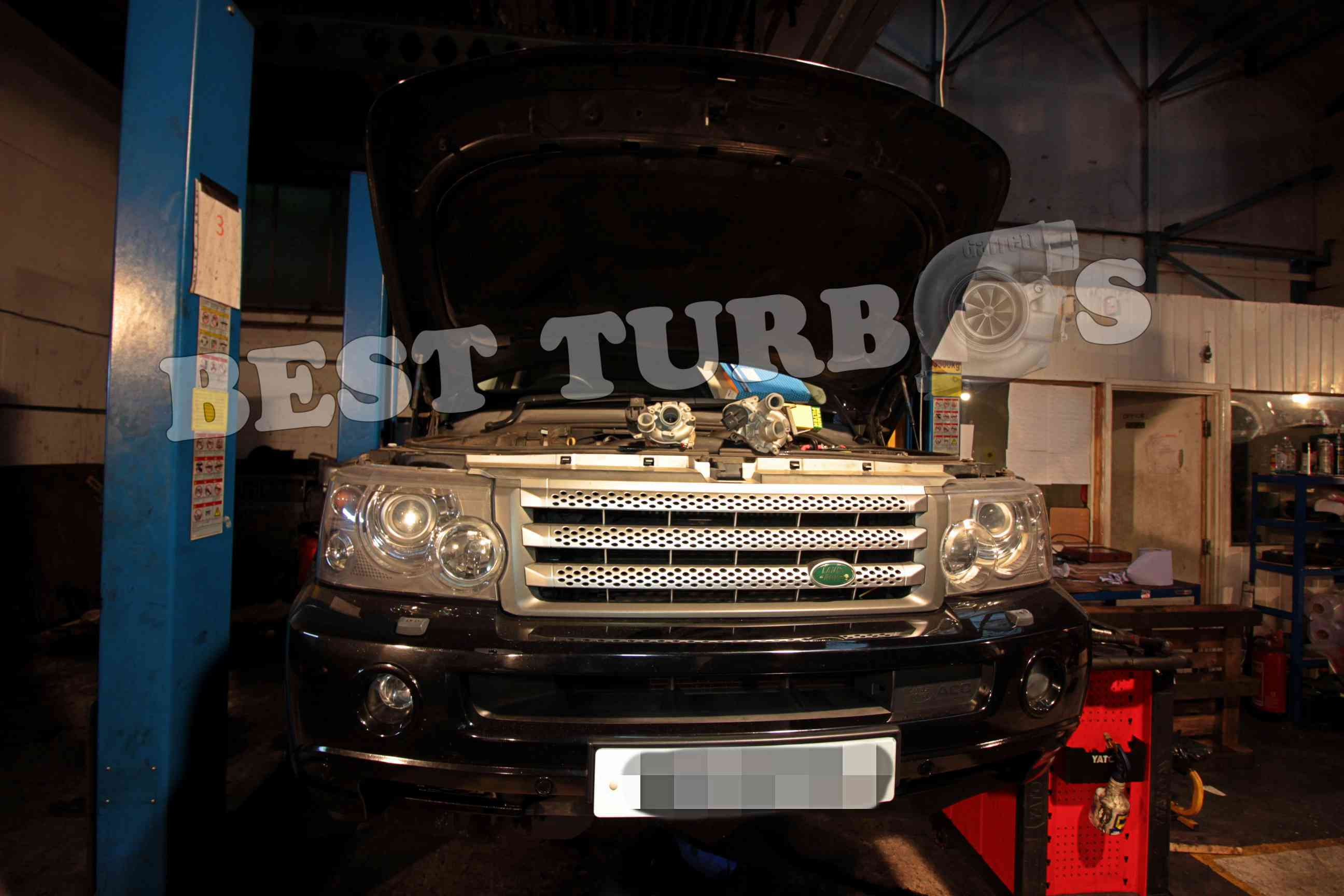 Land Rover Range Rover Sport 3.6 TDV8 turbo turbocharger problem replacement fitting cost price white smoke from exhaust black smoke limp mode fitting best turbos specialist near me (2)