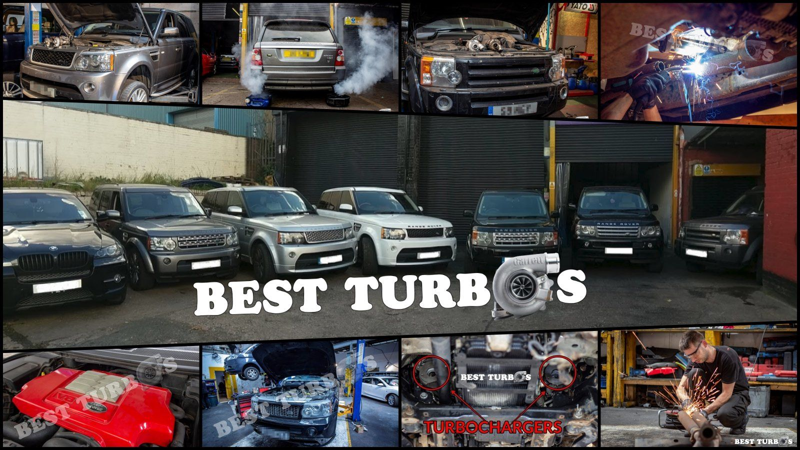 Land Rover Range Rover Sport Discovery Vogue Defender 2.7 3.0 TDv6 3.6 4.4  TDv8 Turbo Turbocharger Rebuild Reconditioning Fitting Birmingham London Manchester UK
