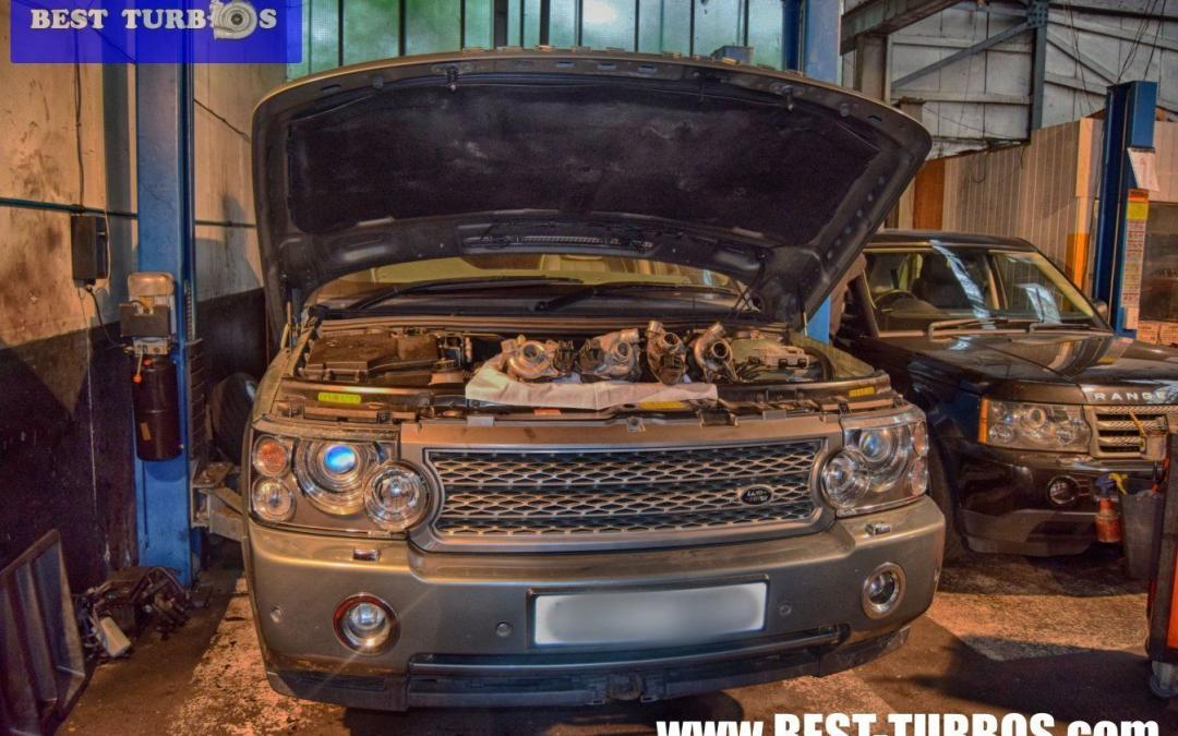 land rover range rover engine system fault turbo failure turbocharger fitting replacement cost tdv6 tdv8 smoke white noise whistle