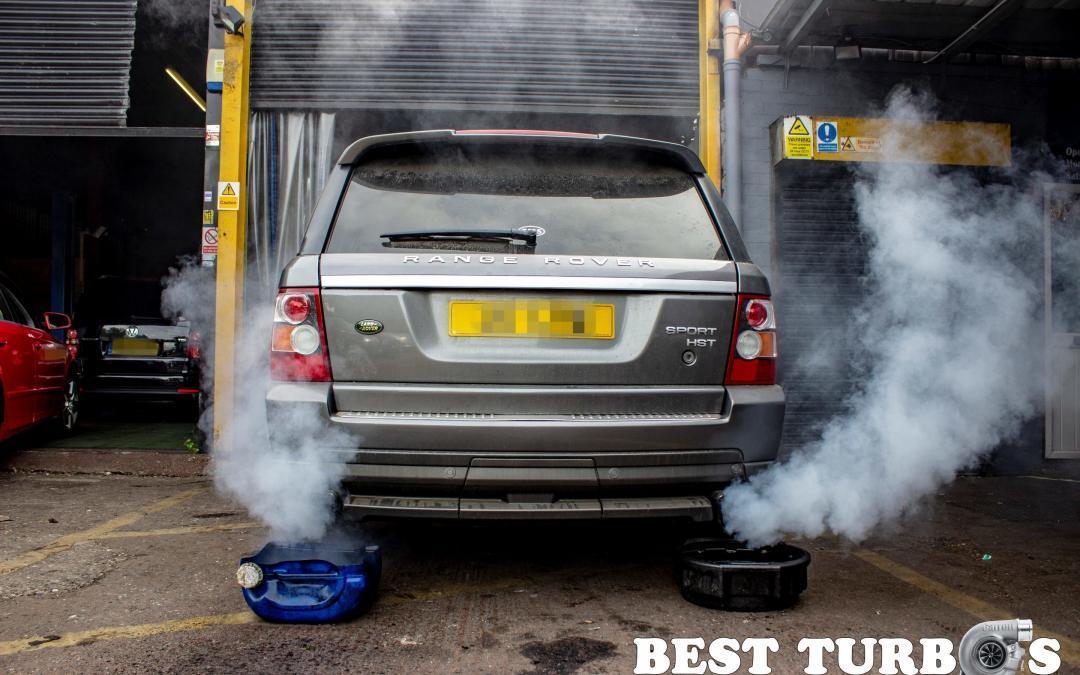 range rover sport hst exhaust smoke turbo failure no power
