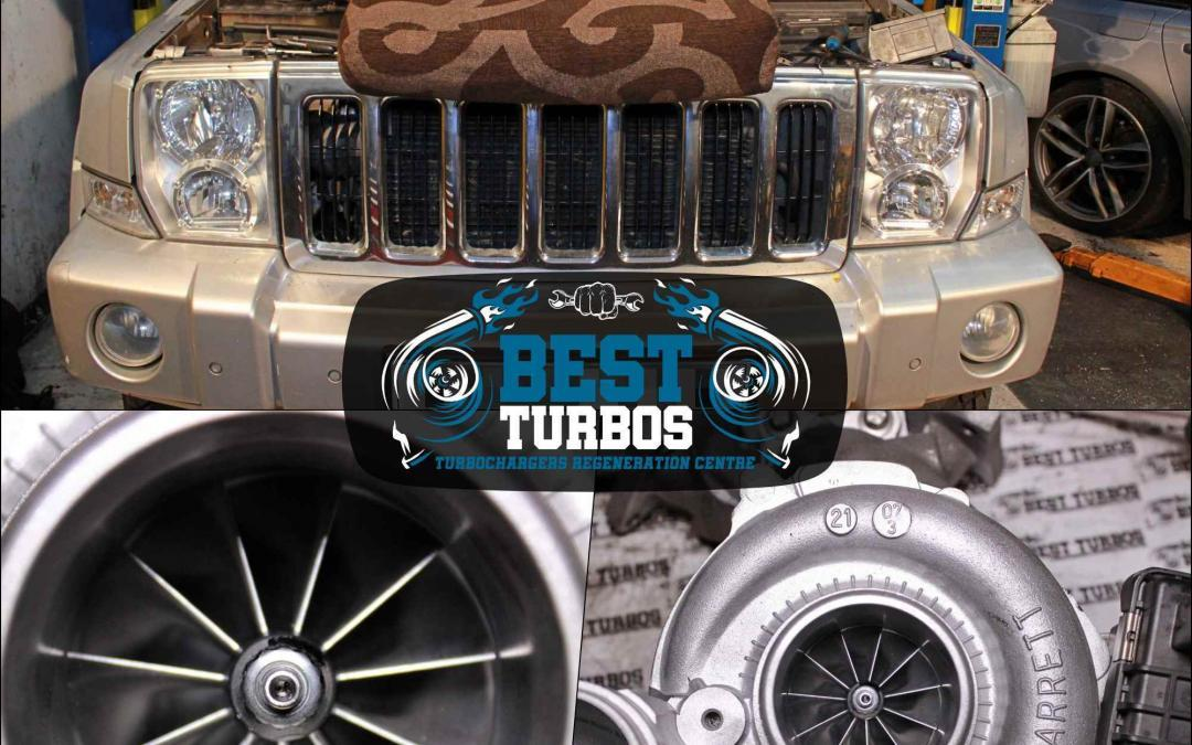 jeep commander turbo turbocharger reconditioning fitting recon diesel problemsaaa
