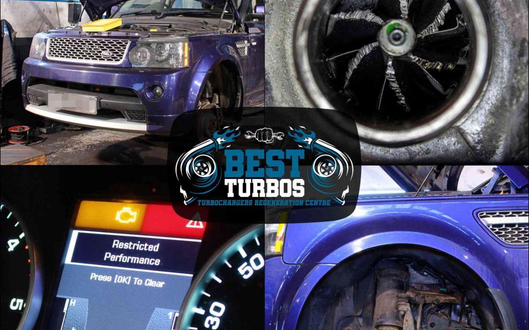 land range rover tdv6 tdv8 turbo replacement turbocharger reconditioning fitting failure inspection diagnose symptoms