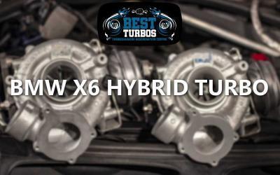 BMW x6 40d Hybrid Turbo -Turbocharger Upgrade Reconditioning Fitting Oldbury