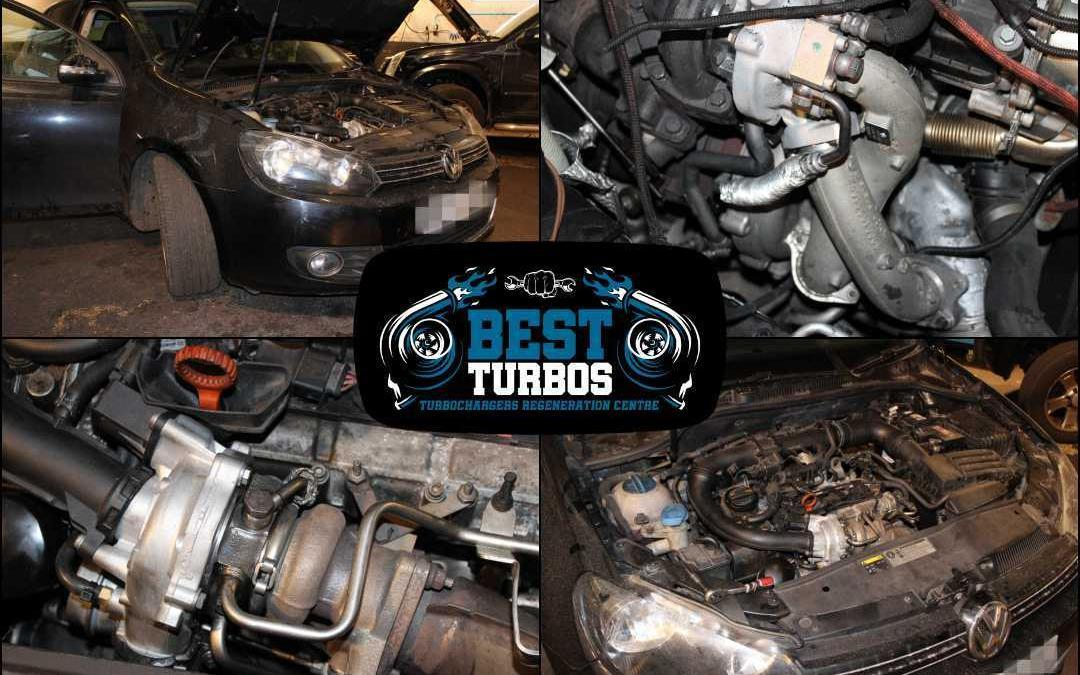 VW Golf Turbo Replacement Reconditioning Fitting Repairs. Turbo specialists Oldbury, Birmingham.