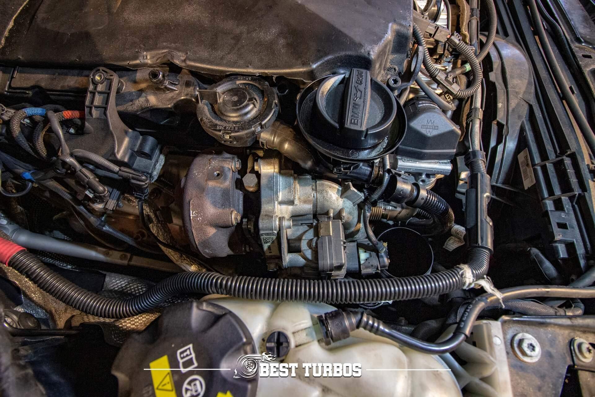 BMW 435d Bi-Turbo Turbochargers Twin Turbo Repair