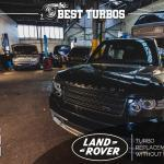 Range Rover TDV8 Turbo Replacement Complete Service