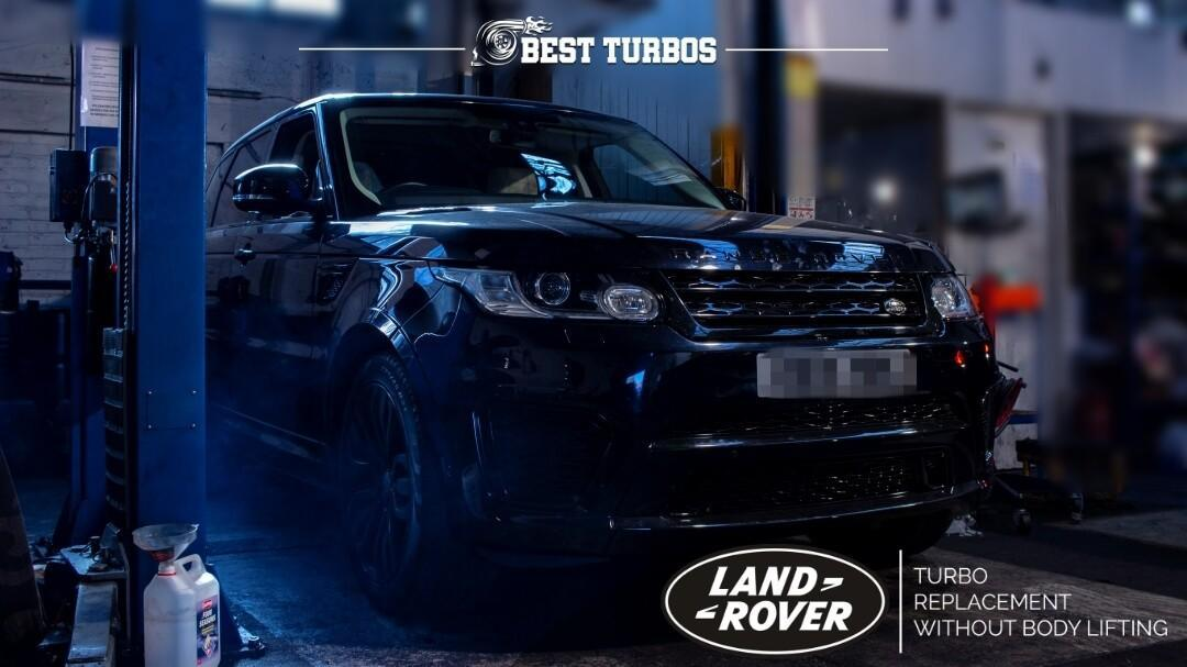 Range Rover Sport Vogue Evoque Turbo Replacement TDV6 TDV8 3.0 3.6 4.4 – WITHOUT LIFTING THE BODY!