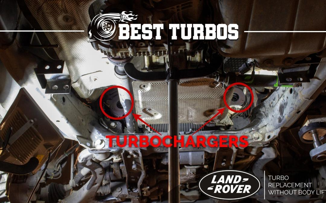 Range Rover Sport HSE 3.6 TDV8 Turbo Turbocharger Replacement Reconditioning Fitting Without Lifting The Body!