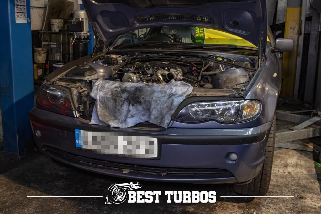 BMW 320d DPF and Turbo Turbocharger Problem No Boost Lack of Power