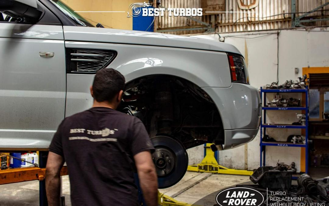 Range Rover TDv8 Turbo Replacement