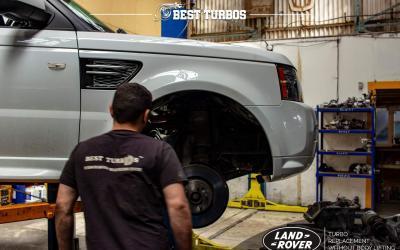 Range Rover TDv8 Turbo Replacement