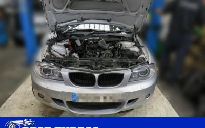 BMW 123d Turbo Failure – Whistling Noise – Turbocharger Reconditioning and Fitting