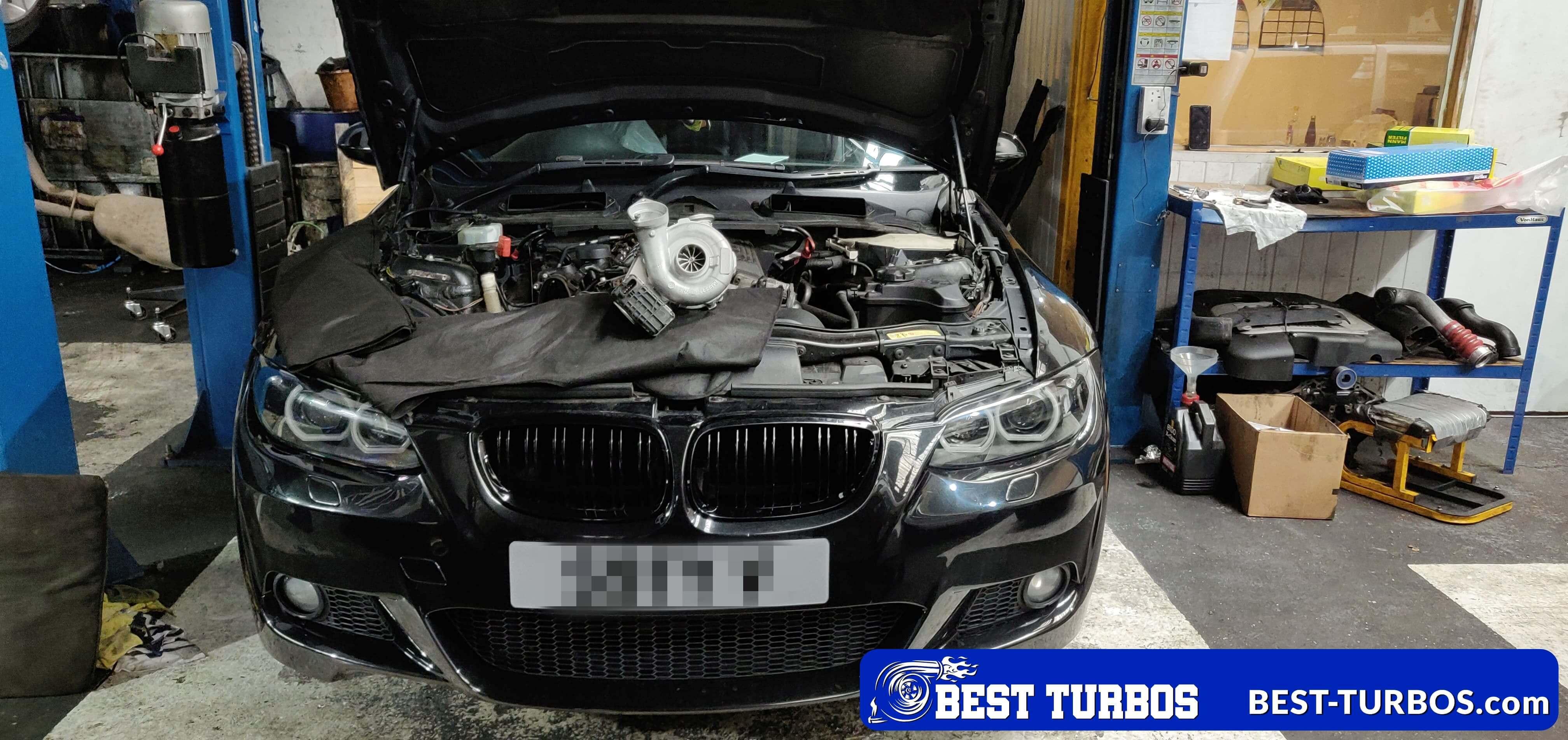 BMW 330 d (E90/E91/E92/E93) Hybrid Turbo Upgrade
