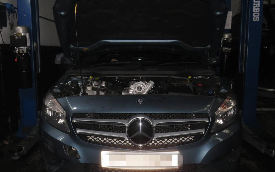 Mercedes A Class Turbo Blown – Reconditioning and Replacement