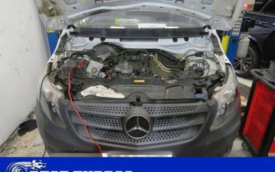 Mercedes Vito 1.6 Turbo Failure – Turbocharger Reconditioning and Fitting