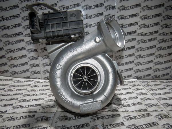 Turbo for BMW 530 730 525 E60 E61 E66 E65 M57N2 HYBRID TURBO TURBOCHARGER UPGRADE 758351