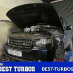 Range Rover TDv8 4.4 - Both turbochargers reconditioning and replacement WITHOUT lifting the body!
