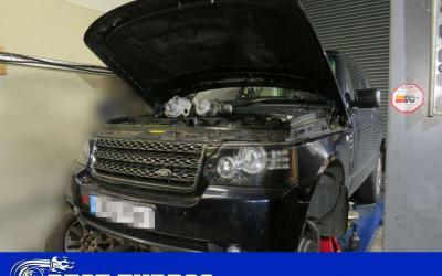 Range Rover TDv8 4.4 – Both turbochargers reconditioning and replacement WITHOUT lifting the body!