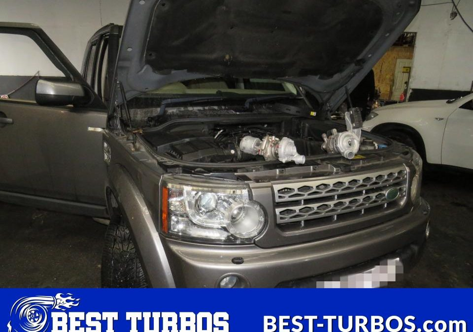 Land Rover Discovery 3.0 TDV6 Turbocharger Reconditioning and Fitting. Both turbos replacement without lifting the body.