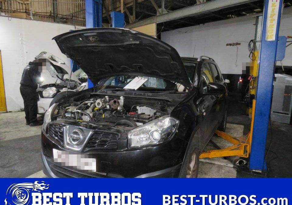 Nissan Qashqai 1.5 DCI Turbo Problem Failure Smoking Blown No Power Turbocharger Repair Reconditioning and Fitting 54399700070