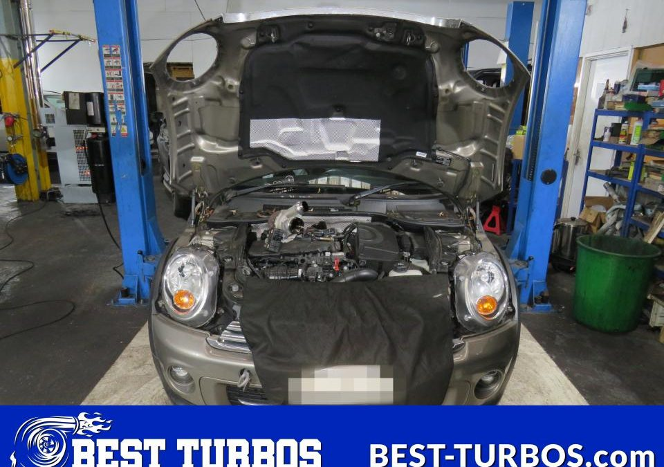 Mini Hatch 1.6 Turbo Reconditioning and Fitting 11658506724 Best Turbos Oldbury