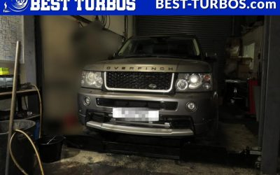 Land Rover Range Rover Overfinch 3.6 TDV8 TDV6 Turbo Turbochargers Reconditioning and Fitting without lifting body. Engine system malfuntion