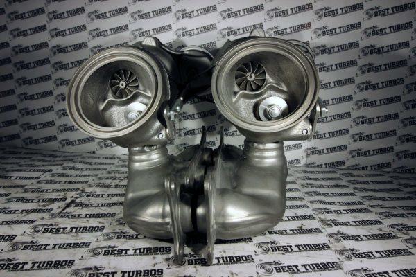 HYBRID Turbocharger BMW 135 335 i E90 E91 E92 E93 306 HP RATTLE FIXED 163455741043-8