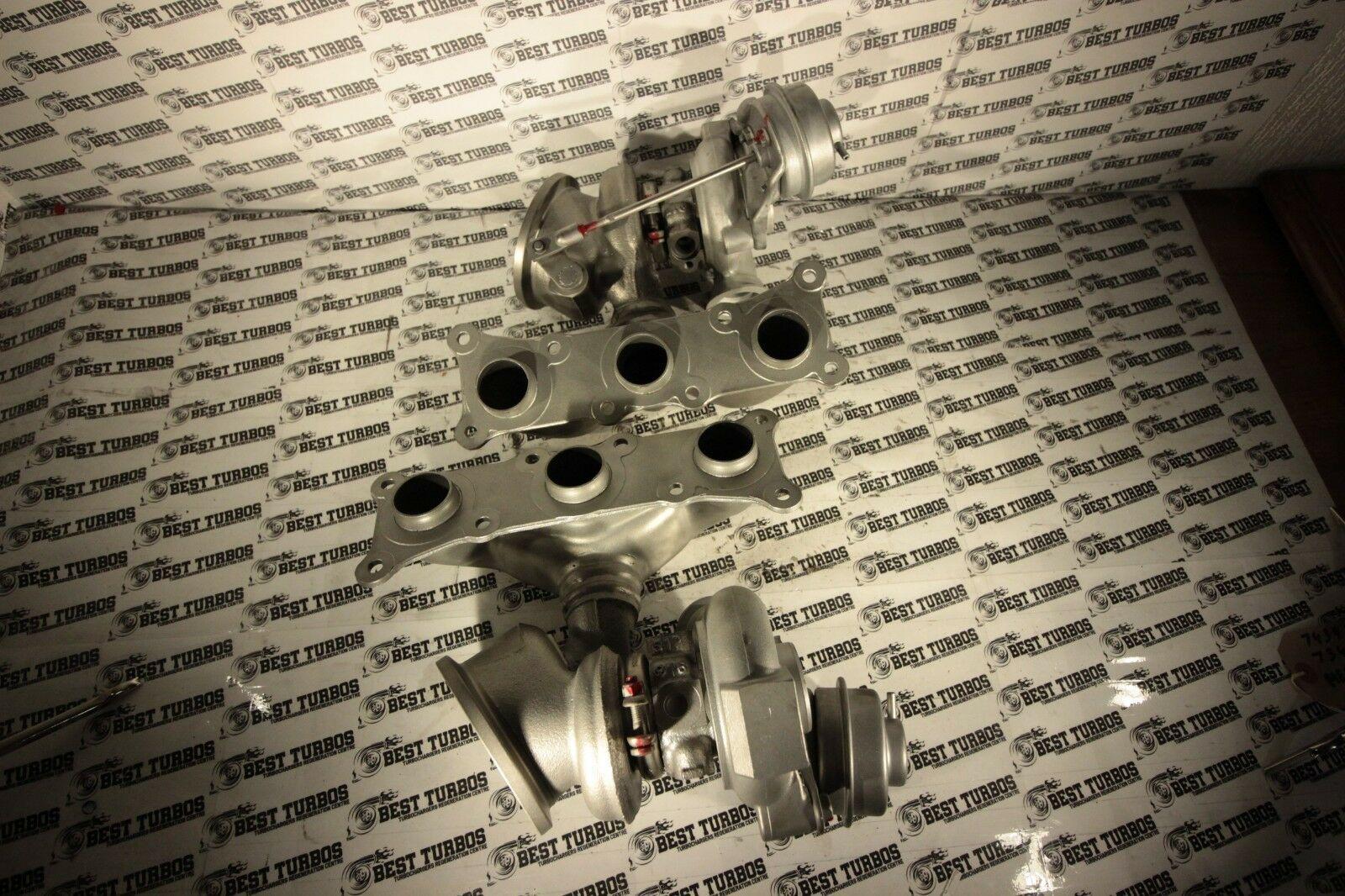 RIGHT SIDE Turbocharger BMW 135 335 i E90 / E91 / E92 / E93 306 HP RATTLE  FIXED!
